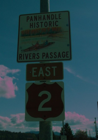 Historic Road Sign
