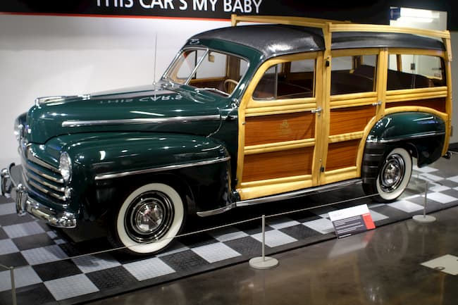 Actual Woody Wagon, surfer's dream car